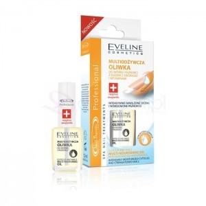 Eveline Nail Therapy Lakier odżywka oliwka 12ml