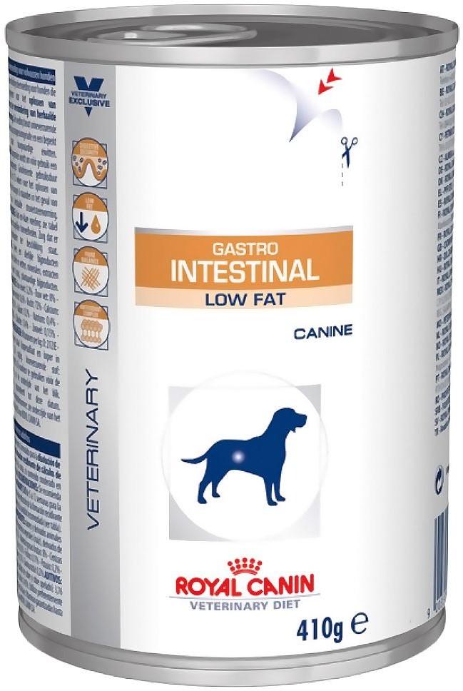 Royal Canin Veterinary Diet Gastro Intestinal Low Fat w puszkach - 24 x 410 g