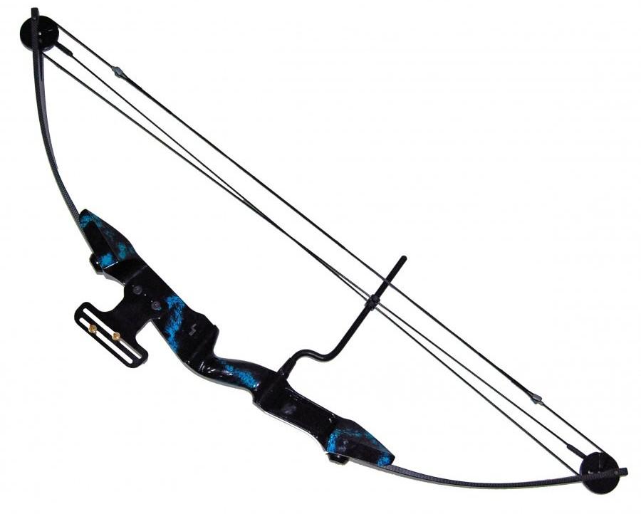 Opinie o ManKung Łuk kompozytowy bloczkowy Cobra niebieski
