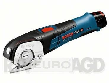 Bosch NIEBIESKI Akumulatorowe nożyce uniwersalne GUS 10,8 V-LI (2 akumulat