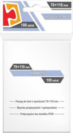 Rebel Koszulki Kraken 70x110 (100szt) (232264)
