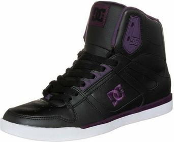 DC Shoes REBOUND sportowe i Trampki wysokie czarny DC111S004-Q11
