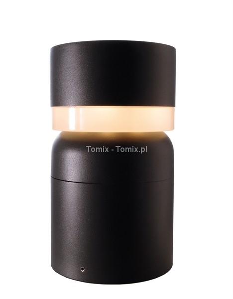 Tomix .pl Słupek ogrodowy Fat 25 cm - antracyt (D730401)
