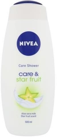 Nivea Care & Star Fruit Shower Gel 500ml W Krem pod prysznic 69769