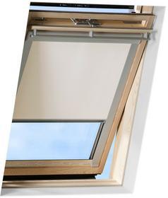 Velux Victoria-M Zaciemniająca roleta do okien dachowych biała, M06 / 306 (61,3x94 cm)