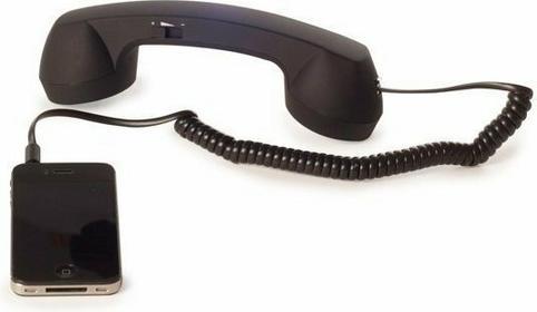 Retro słuchawka do telefonu komórkowego