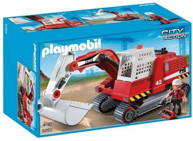 Playmobil City Action Koparka 5282