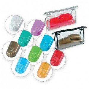 Top Choice Akcesoria kapielowe Komplet toaletowy z kosmetyczka 41372
