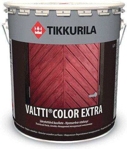 Tikkurila po?yskowy Impregnat do drewna Valtti Color Extra 9L - Po?yskowy impreg