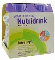 N.V.Nutricia NUTRIDRINK JUICE STYLE O SMAKU JABŁKOWYM PŁYN 4x200 ML 3056441