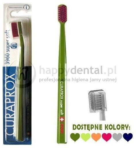 Curaden CS 3960 BLISTER Super Soft - wyjątkowa szczoteczka do zębów (6