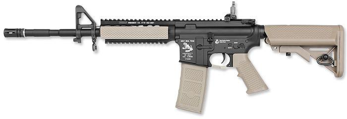 G&P Karabinek szturmowy AEG Ball Rifle Long - Sand On Black (12550) SP