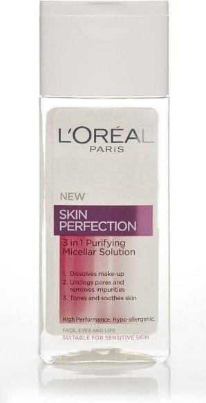 Loreal Skin Perfection 3in1 Purifying Micellar Solution Płyn micelarny 200ml