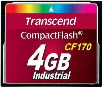 Transcend Compact Flash CF170 4GB (TS4GCF170)