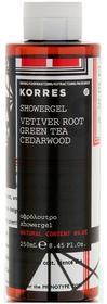 Korres Vetiver Root Green Tea Cedarwood Showergel żel pod prysznic dla mężczyzn