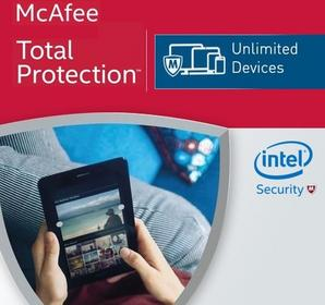 McAfee Total Protection 2017 KEY - 5 PC