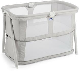 Chicco Lullago Zip łóżeczko niemowlęce Light Grey
