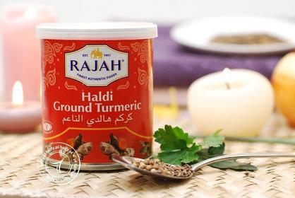 Rajah Kurkuma - Haldi Ground Turmeric - Puszeczka