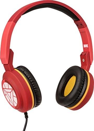 Tribe Marvel Pop on-ear Słuchawki z mikrofonem, słuchawki składany z 3,5MM wtyczka jackIron Man HPW11604