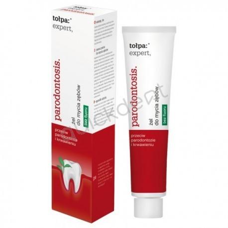 Tołpa Expert Parodontosis żel do mycia zębów bez fluoru 75ml