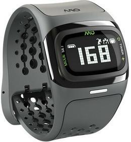 MIO o Alpha 2 - Pulsometr Nadgarstkowy + Monitor Aktywności Fizycznej Bluetooth Smart 4.0 Led (Czarny) (Wysyłamy 1-2 Dni) 58P-Blk