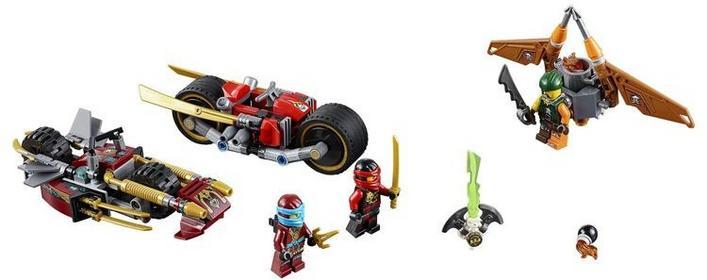 LEGO Pościg na motocyklu 70600