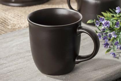 Bolesławiec BRĄZ Kubek ceramiczny 350 ml gat 1 GU-1105