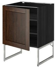 IKEA Szafka stojąca, półki, 60x60x60, biały, front: różne 690.073.58