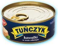 GRAAL Tuńczyk kawałki w sosie własnym 170g