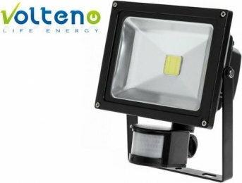 Volteno Volteno Naświetlacz LED z sensorem 30W zimna barwa światła IP65 VO0047