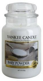 Yankee Candle Baby Powder 623 g Classic duża świeczka zapachowa