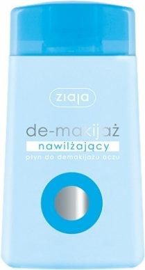 Ziaja De-makijaż: nawilżający płyn do demakijażu oczu 120ml