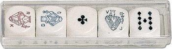 Piatnik Kości pokerowe (22 mm) 2987