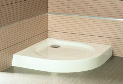 Aquaform Delta 80x80 biały 200-06904