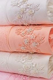 Soft Cotton Zestaw upominkowy ręczników bambusowych i ręczniki MASAL Łososiowy 8178_BOX