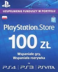 Sony DIGITAL PlayStation Network - 100 PLN (klucz PSN)