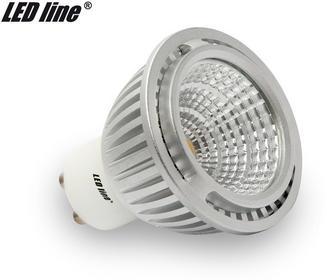LED Line Żarówka LED COB 30° GU10 230V 5W biała ciepła 243202