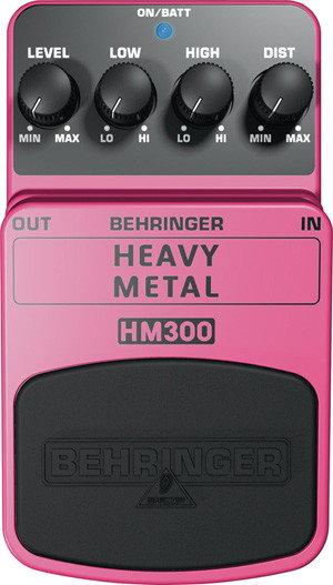Behringer HEAVY METAL HM300 - efekt gitarowy