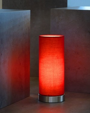 Lucide TUBI 03508/01/32 RED Lampa stołowa