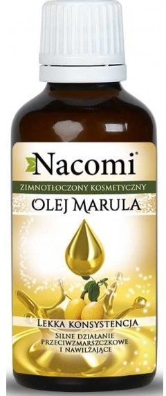 Nacomi olej marula ECO 30ml ciemna butelka