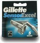 Opinie o Gillette SENSOR EXCEL wkłady