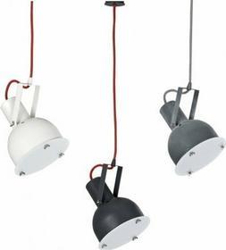 Nowodvorski Industrialna LAMPA wisząca OPRAWA ruchoma INDUSTRIAL 5525 loft Biały czerwony