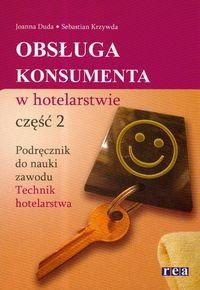 Znalezione obrazy dla zapytania Joanna Duda Sebastian Krzywda Obsługa konsumenta w hotelarstwie Część 2