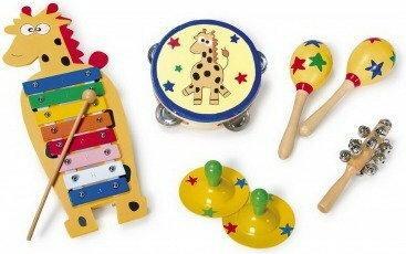 Legler Zestaw muzyczny dla Dzieci Żyrafa 7574