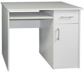 Akord biurko Pin Białe Wolnostojące