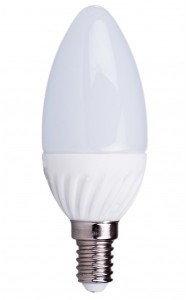 Kobi Żarówka LED - LED SW E14/4,5W - ciepły biały KASWE1445CB2 K