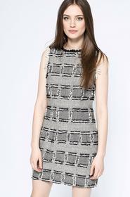 Vero Moda Sukienka - - Sukienka Fraya szary 10151559