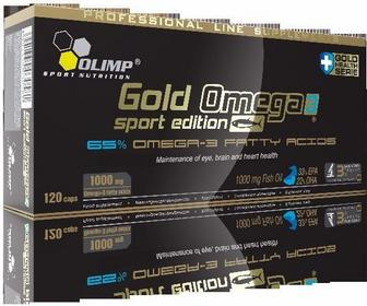 Olimp Gold Omega 3 sport edition 120 kapsułek