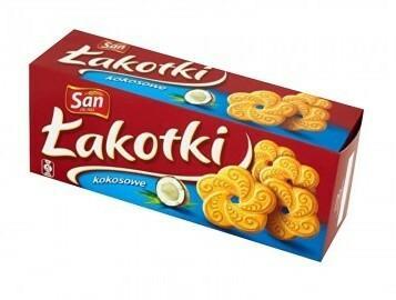 San Ciastka Łakotki kokosowe 150g 172676