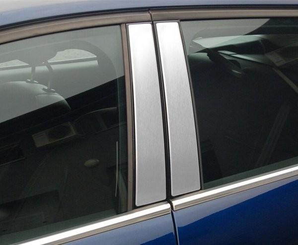 ALUFROST MAZDA MAZDA 3 III od 2013 Nakładki na słupki drzwi (aluminium) [ 4szt ]